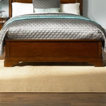 Queen Panel Footboard & Slats