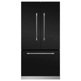 Matte Black Mercury French Door Counter Depth Refrigerator