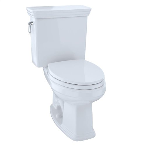Eco Promenade® Two-Piece Toilet, 1.28 GPF, Elongated Bowl - Cotton