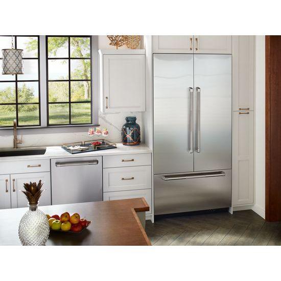 42 Inch Built In French Door Refrigerator