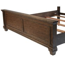 Gallatin King Storage Footboard