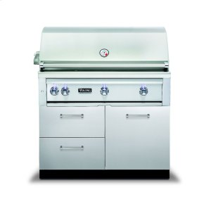 """Viking42""""W. x 30""""D. Grill Base - VQBO Outdoor Stainless Steel Cabinets"""