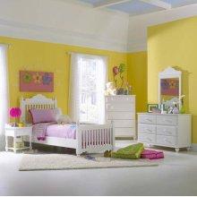 Lauren 4pc Twin Post Bedroom Suite