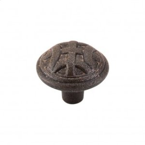 Celtic Large Knob 1 1/4 Inch - Rust