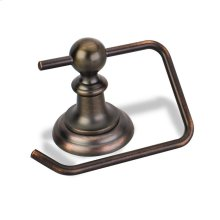 Elements Conventional Euro Paper Holder. Finish: Brushed Oil Rubbed Bronze. Packed in White Box.