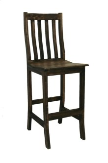 "30"" Santa Rita Barstool Medio Finish"