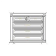 Portico Single Dresser - Shell