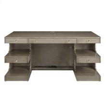 Oasis - Cape Dutch Writing Desk In Grey Birch
