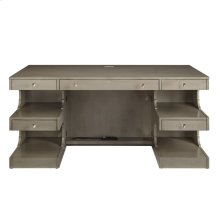 Oasis-Cape Dutch Writing Desk in Grey Birch
