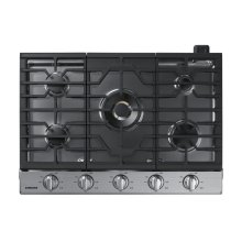 """30"""" Gas Cooktop with 22K BTU Dual Power Burner, NA30N7755TS/AA (Stainless)"""