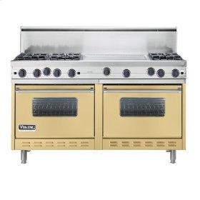 """Golden Mist 60"""" Open Burner Commercial Depth Range - VGRC (60"""" wide, six burners 24"""" wide griddle/simmer plate)"""
