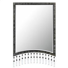 ARGENTA RECTANGULAR METAL MIRROR