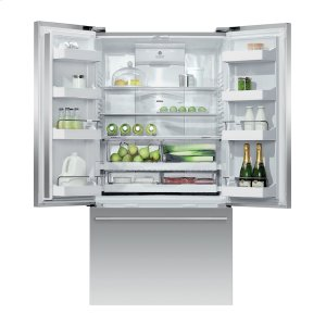 "Fisher & PaykelFreestanding French Door Refrigerator Freezer, 36"", 20.1 cu ft, Ice & Water"