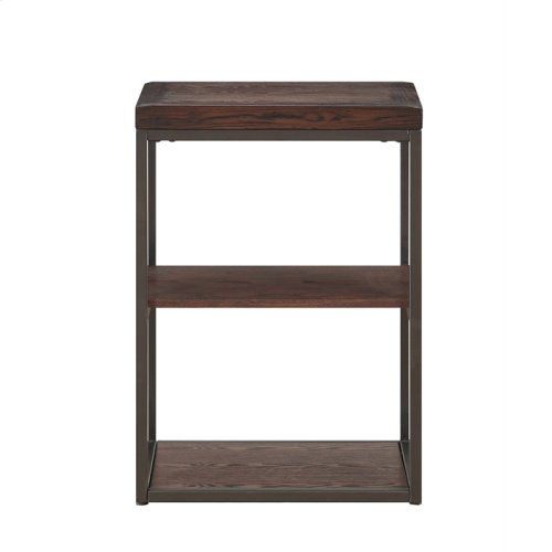 2 Shelf Accent Table