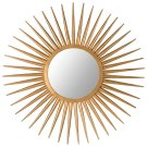 Sun Flair Mirror - Gold Product Image