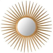 Sun Flair Mirror - Gold