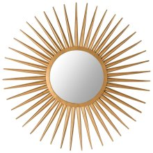 Sun Flair Mirror - Gold
