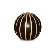 (LS) Round Ball Lamp L - Outdoor - Black