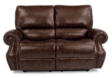 Colton Leather Power Reclining Loveseat with Power Headrests