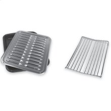 Premium Broil Pan & Roasting Rack - Other
