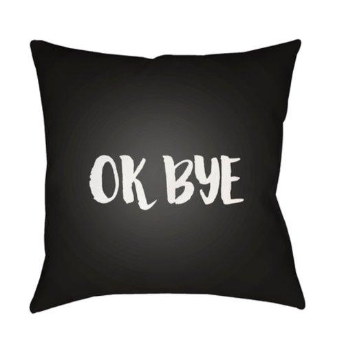 """Ok Bye QTE-055 20"""" x 20"""""""