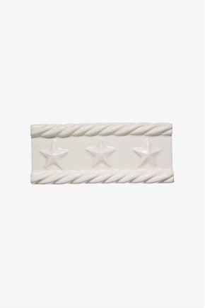"""Archive Rope and Star Rope and Star Border 2 1/2"""" x 6"""" STYLE: ACBOR2"""