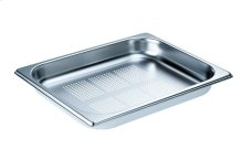 DGGL 8 Perforated steam oven pan For blanching or cooking vegetables, fish, meat and potatoes and much more