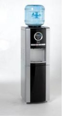 Model WDE98PS - Water Dispenser with Electronic Digital Display - Platinum/Black