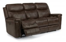 Grover Leather Power Reclining Sofa