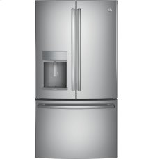 GE Profile™ Series ENERGY STAR® 27.8 Cu. Ft. French-Door Refrigerator with Hands-Free AutoFill - CLEARANCE ITEM