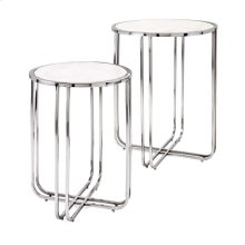 Hachi Marble Side Tables - Set of 2