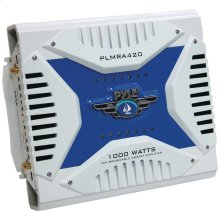 Elite Series Waterproof Marine Bridgeable MOSFET Class AB Amp (4 Channels, 1,000 Watts)