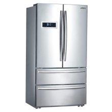 French Door Refrigerator In Stainless Steel