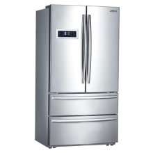 French Door Refrigerator In Stainless Steel