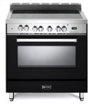 "Matte Black 36"" Electric Single Oven Range Product Image"