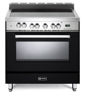 "Matte Black 36"" Electric Single Oven Range"