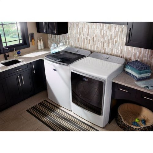 """Maytag® Top Load Washer with the PowerWash® System """" 6.2 cu. ft. - White"""