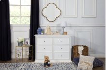 White Foothill-Louis 6-Drawer Dresser