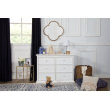 White Foothill-Louis 6-Drawer Dresser