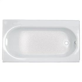 Princeton 60x30 inch Integral Apron Bathtub with Drain - White