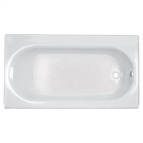 Princeton 60x34 inch Integral Apron Bathtub with Drain and Luxury Ledge  American Standard - White