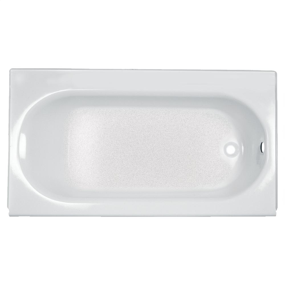 Princeton 60x30 Inch Integral Apron Bathtub   Above Floor Rough In American  Standard   White Hidden