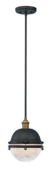 Portside 1-Light Outdoor Pendant