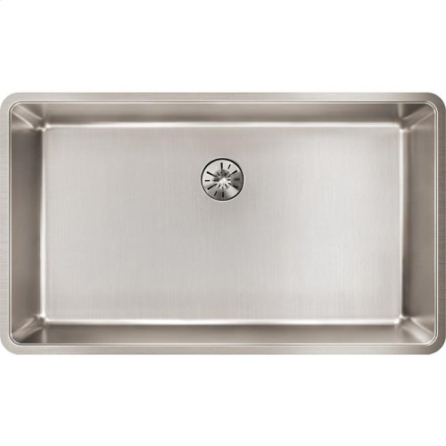 "Elkay Lustertone Iconix Stainless Steel 32-1/2"" x 19-1/2"" x 9"", Single Bowl Undermount Sink with Perfect Drain"