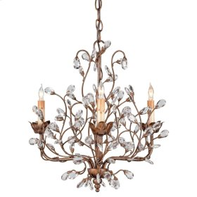 Crystal Bud Cupertino Small Chandelier