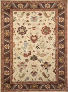 Charisma Ivory/brown 1411 Rug