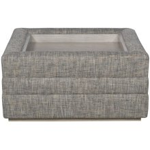 Boyden Ottoman with Wood Tray 9084Z-O