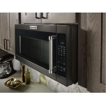 "KitchenAid 1000-Watt Microwave with 7 Sensor Functions - 30"" - Black Stainless Steel with PrintShield™ Finish"