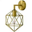 Derive Brass Wall Sconce Light Fixture Product Image