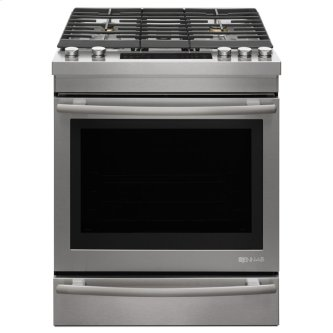 "30"" Pro Style Dual Fuel Range, Stainless"